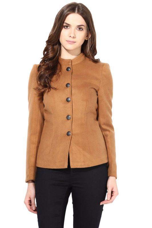Beige felt jacket