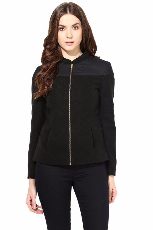 Black felt jacket