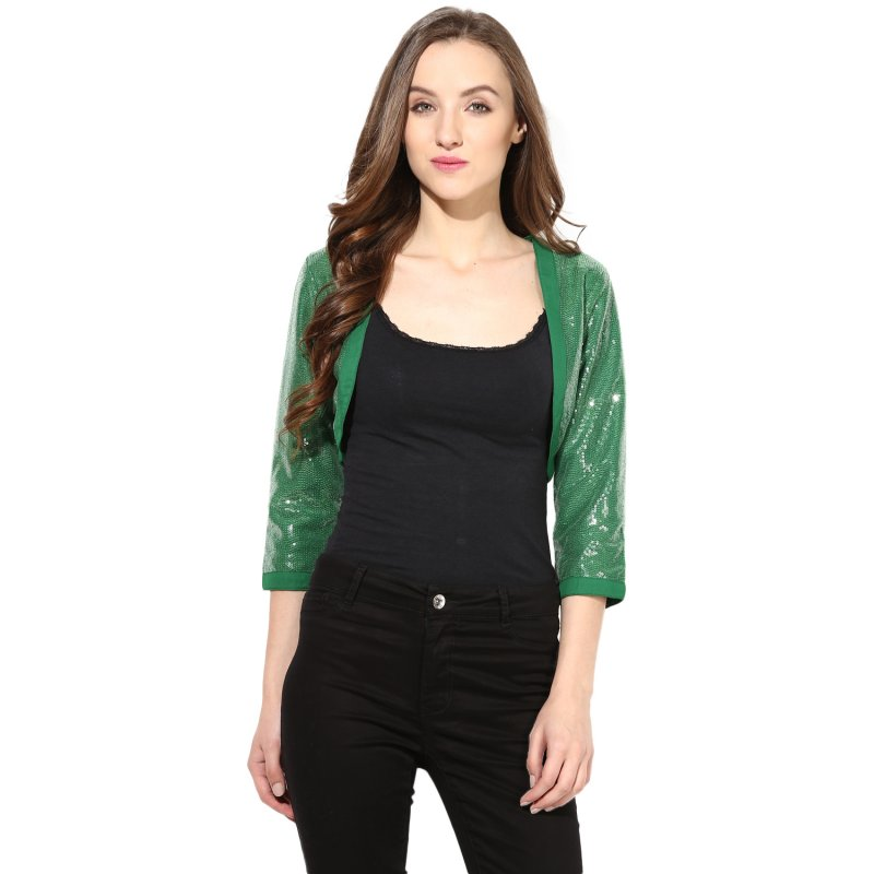 Green sequenced shrug