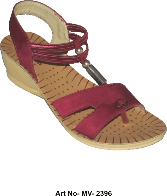Buy Maroon Color Women Sandal