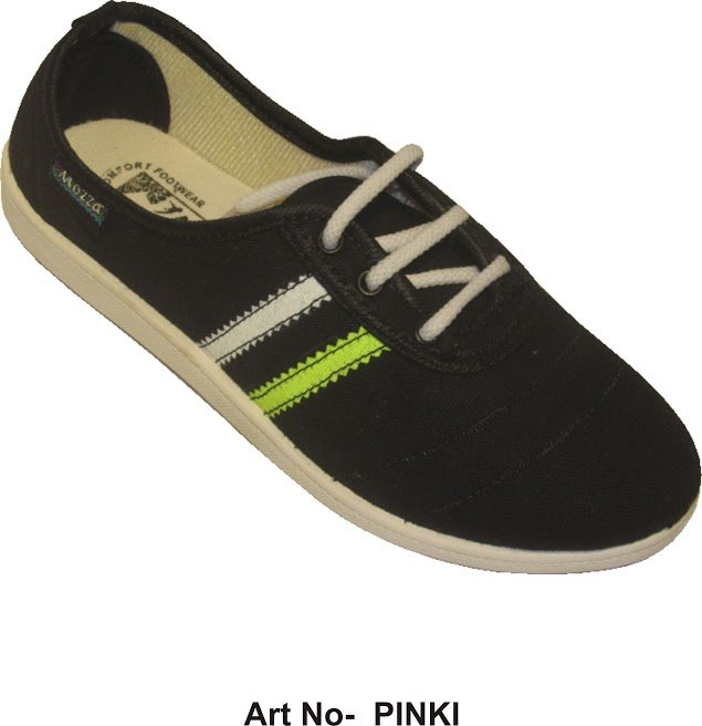 Buy Black Canvas Shoes For Kids