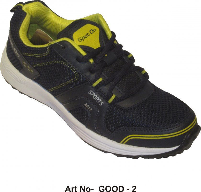 Buy Yellow - Black Sports shoes