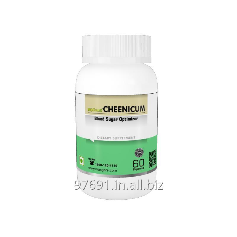 Buy Maxgers Cheenicum Blood Sugur Optimizer, 60 Capsules