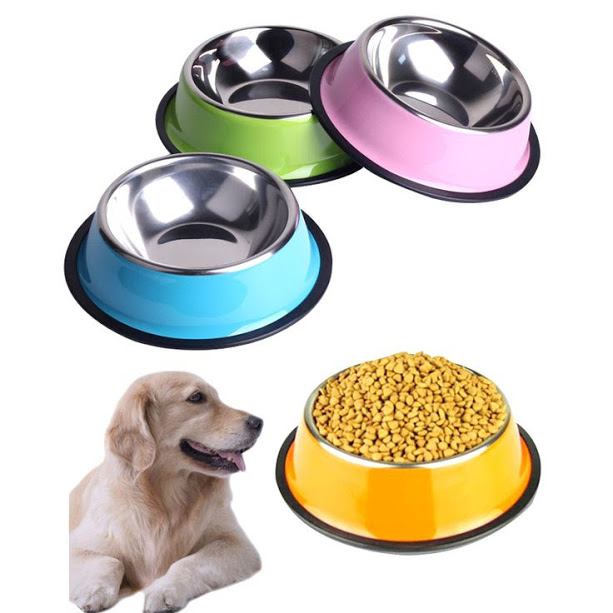 Buy STAINLESS STEEL PET BOWLS