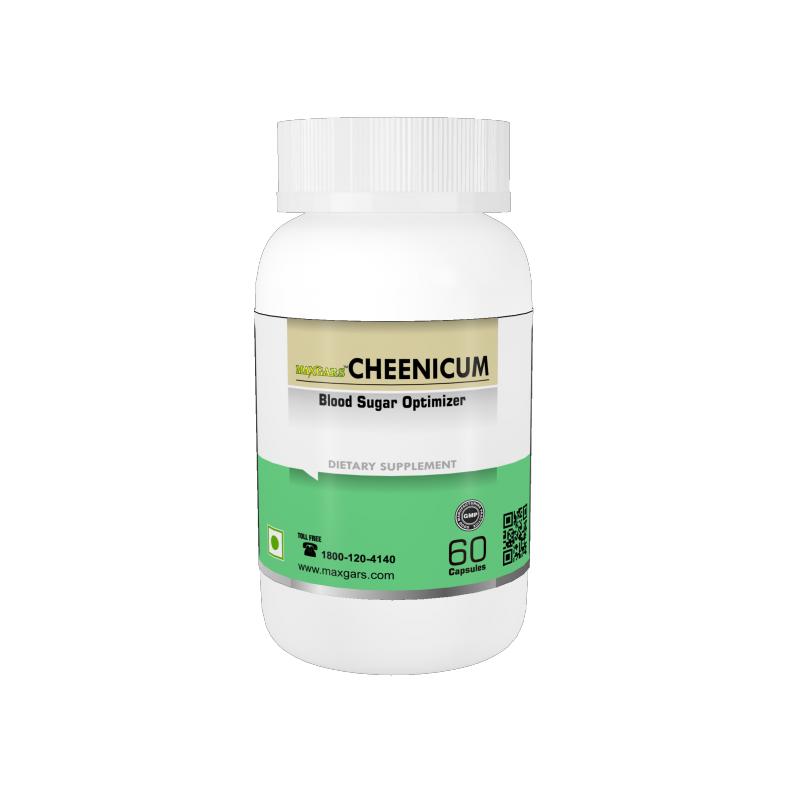 Buy Maxgers Cheenicum Blood Sugur Optimizer, 60 Capsules