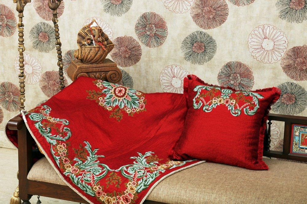 Buy Carpet convent embroidery throws