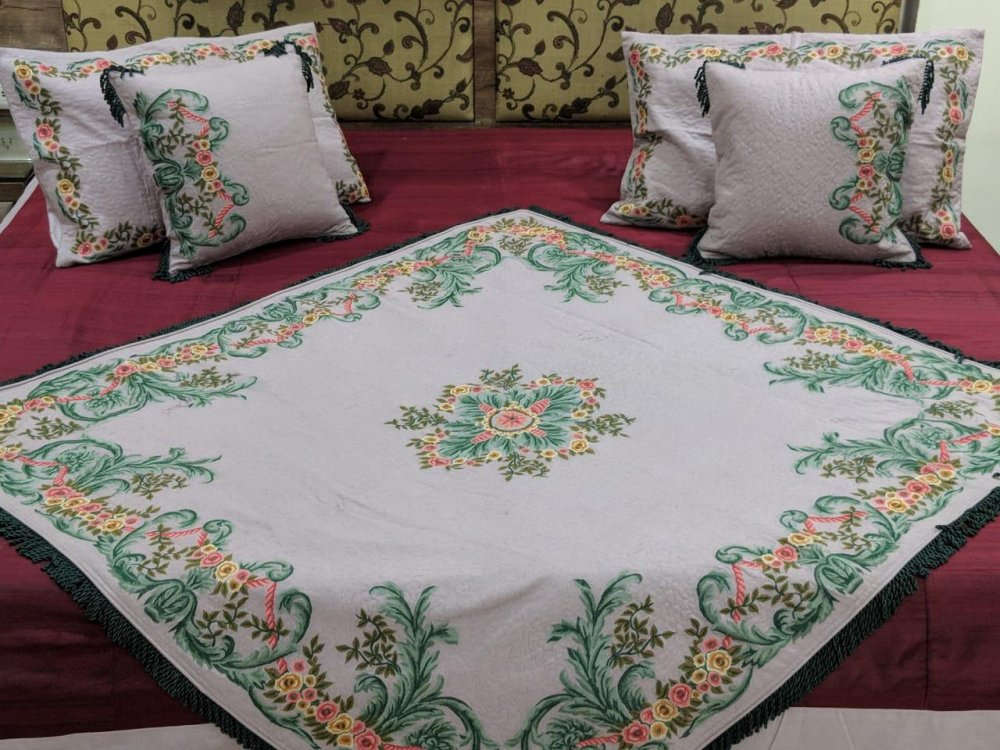 Buy Convent work cotton Cushions