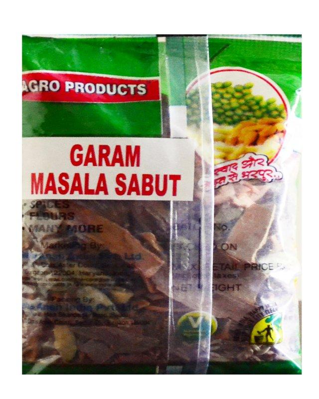 Buy GARAM MASALA SABUT/POWDER