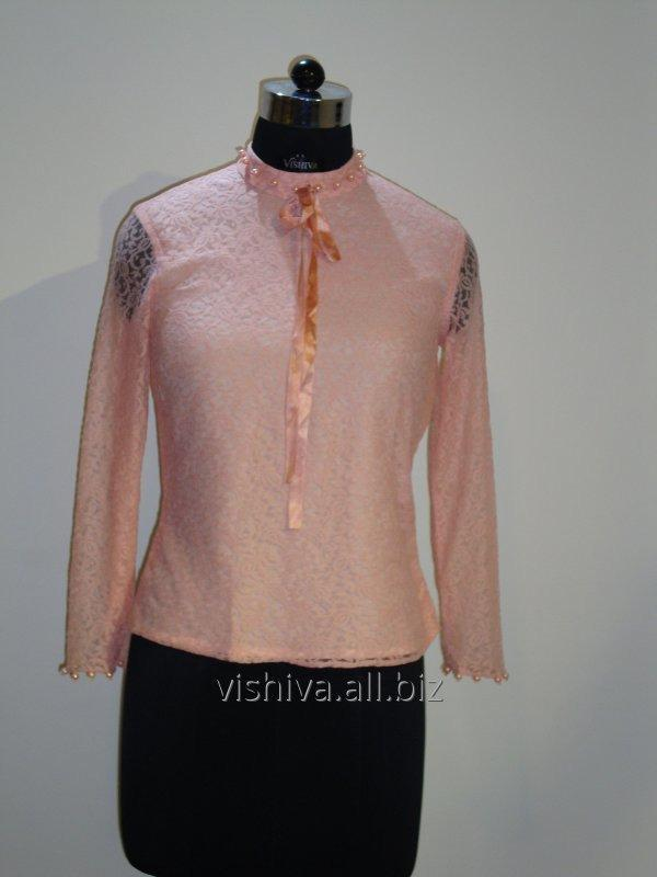 Buy Beads and Pearl hand work pink Top