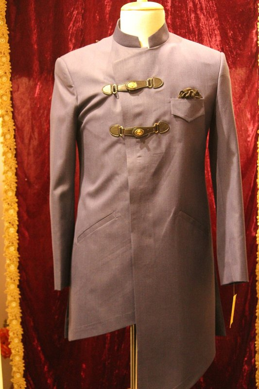 Buy Brown color Mid length Jacket