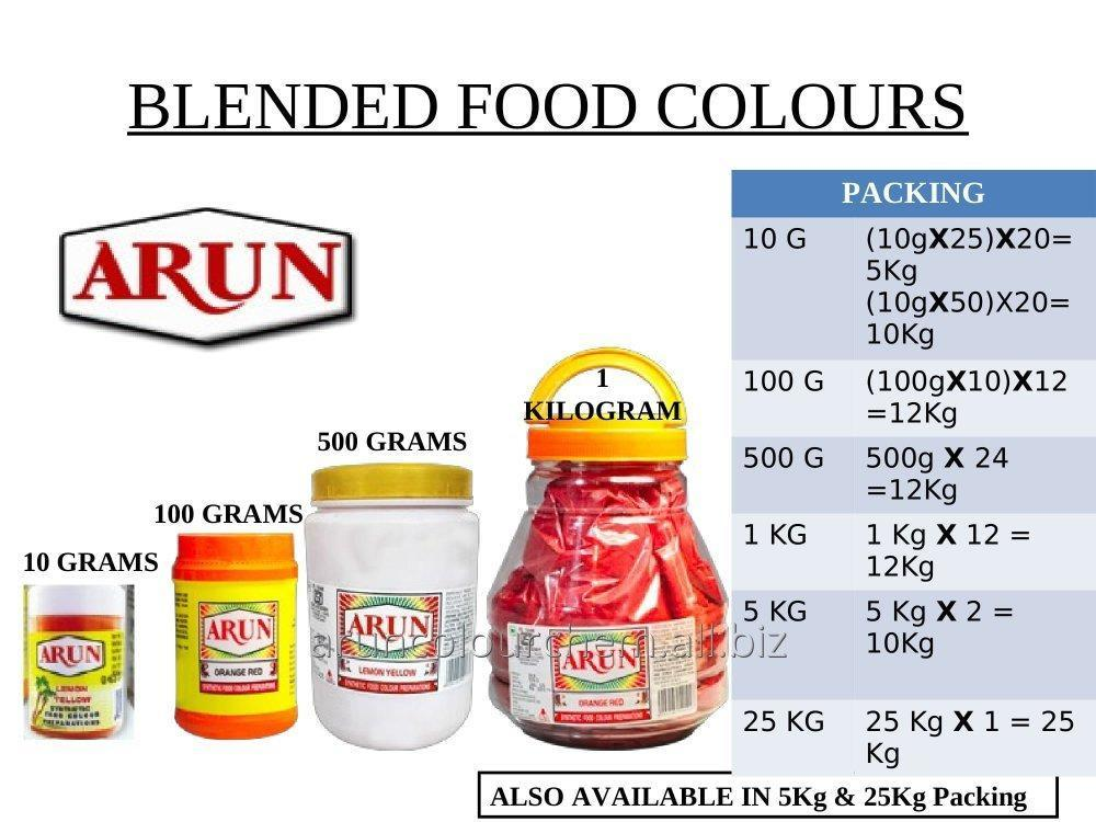 Buy Blended Food Colours