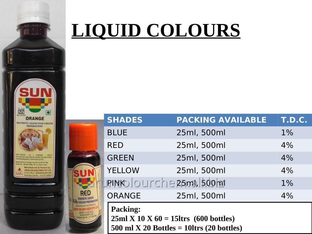 Buy Liquid Food Color