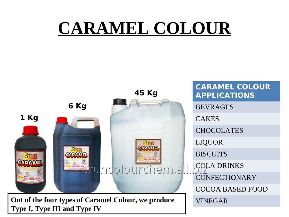 Buy Food Caramel Colours