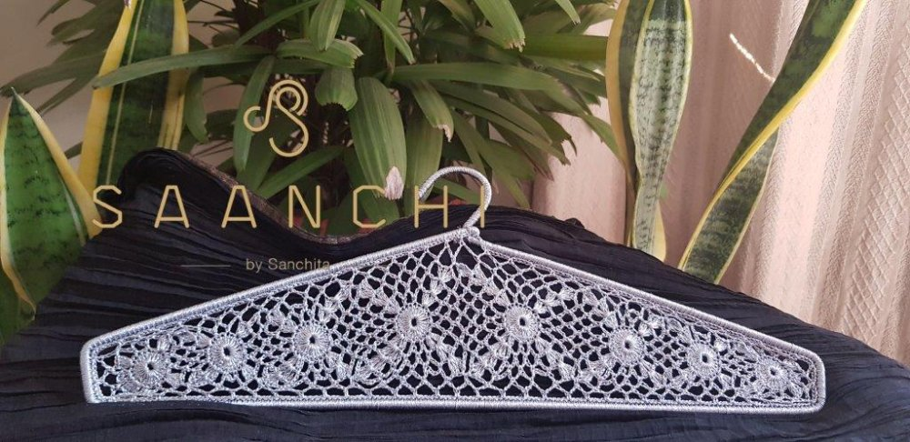 Buy Hand Crafted Crochet Aluminum Hangers