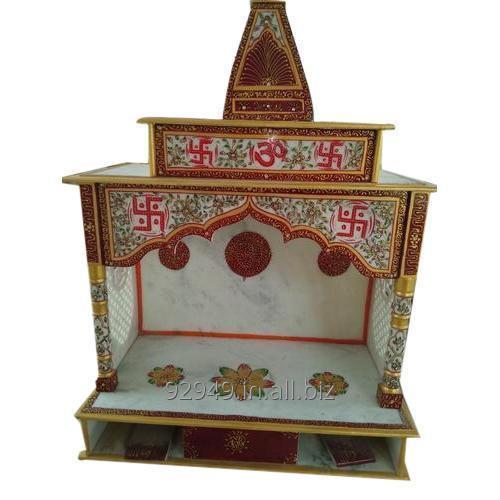 Buy Makrana Marble Painted Temple