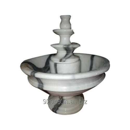 Buy Makrana White Marble Indoor Fountains