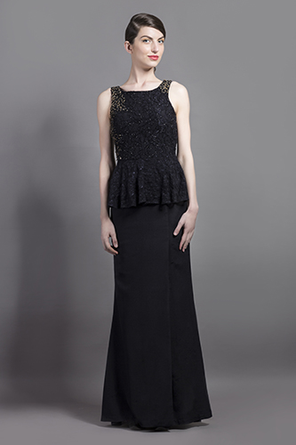 Buy Blue Iris Bell Gown