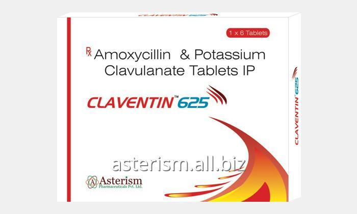 Buy Claventin 625 Tablet