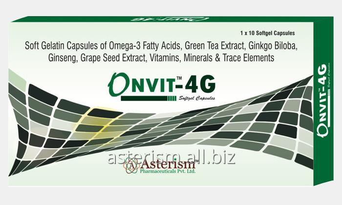 Buy Onvit-4G softgel capsules