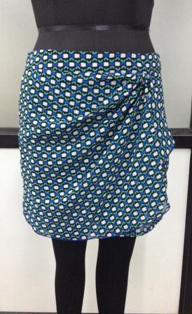 Buy Multicolor women short skirt
