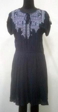 Net Embroidered  women dress