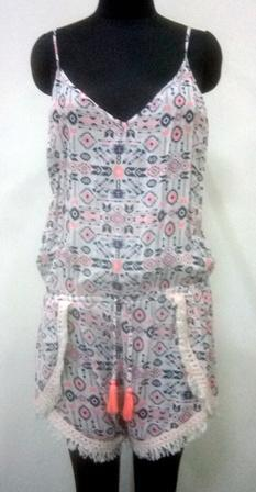 Buy Light pink with back open jump suit