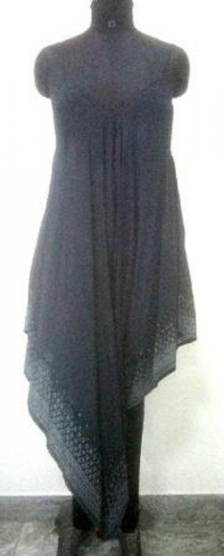 Buy Navy blue color women sleevesless dress