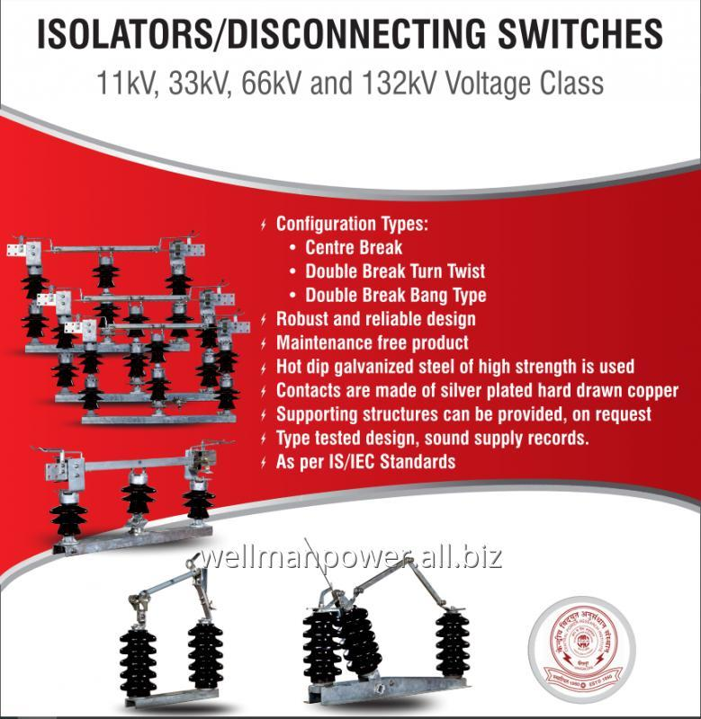 Buy Isolators / Disconnectors