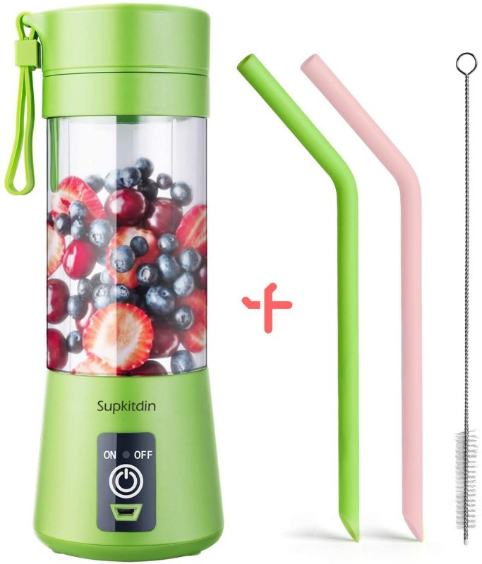 Buy Portable Blender Mini Personal Blender, Godmorn Juicer Smoothie Blender Smoothie Maker Cordless Small Juicer Cup Mixer, USB Rechargeable BPA Free,10oz/300ml, Home Outdoor Travel Office Buy online.