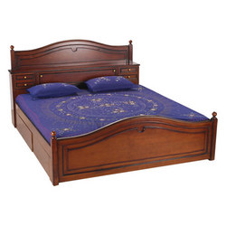 Teak wood double beds — Buy Teak wood double beds, Price , Photo ...