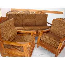 Wooden Sofa Set Architecture Homes Decoration