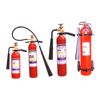 Fire extinguisher type for electrical
