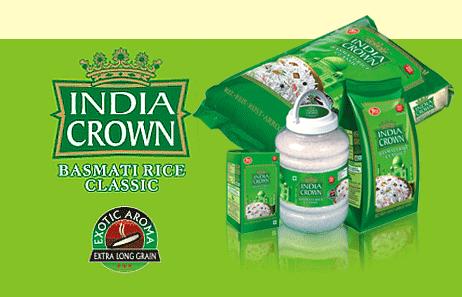 India Crown Basmati Rice India Crown Classic Basmati