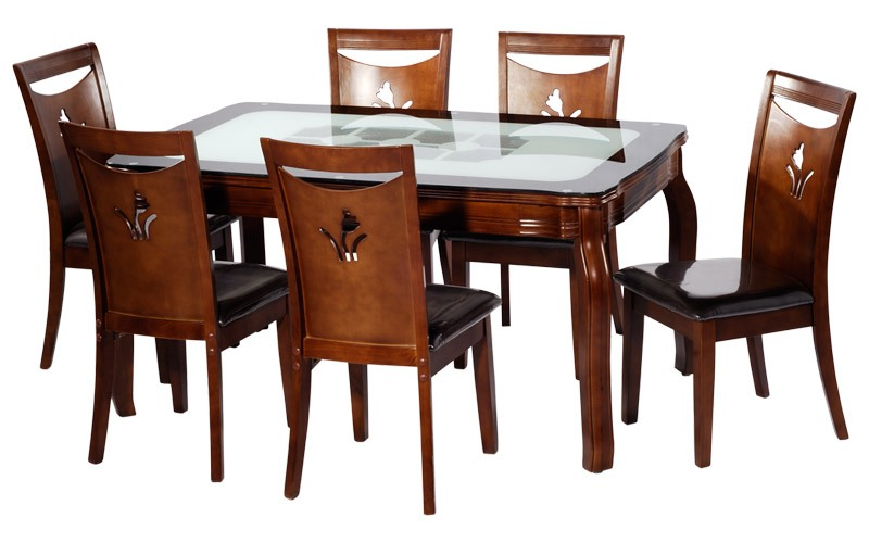 Awesome Dining Table (with 6 Chairs)