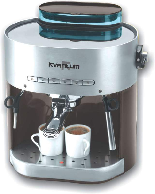 Automatic Espresso Coffee Machine From Kvantum Uk Brand For Use At Home Small Offices And S Make Cuccino Latte Americano