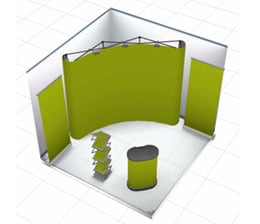 Portable Exhibition Kit Bangalore : Portable exhibition kit folding event kit display kit supplier