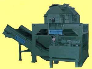 Buy Full Flow Octagonal Rotary Barrel & Hinged Belt Conveyor