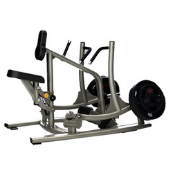 seated high row machine
