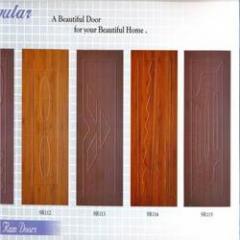 Colored Membrane Doors
