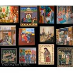 Paintings (tanjor, canvas, silk)
