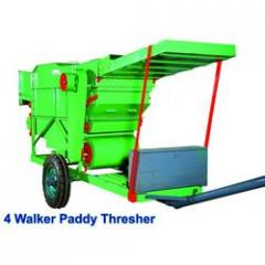 Four Walker Paddy Threshers