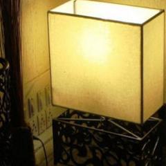 Mushroom Rectangle Table Lamp