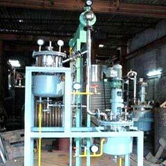 Oil Cum Rezinoid Extraction Unit