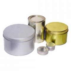 Tin Containers and Tinlettes