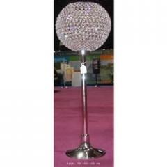 Centerpiece with crystal ball attachment with