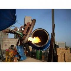 Universal Tilting Rotatory Furnace
