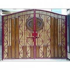 Designer Fiberglass Gate Panels