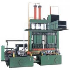 Revolving Box Type Baling Press