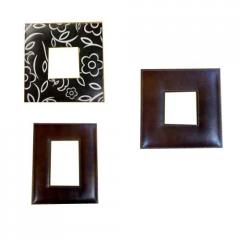 Leather Bound Photo Frames