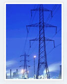 Electricity transmission tower/ grid towers